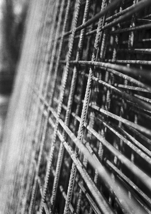 Betonvlechtmatten bij Villa Nova